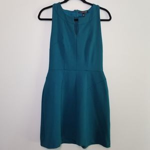 Victoria's Secret sleeveless dress teal size 8